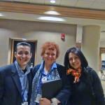 Judy Hale, ex Presidente de ISPI con Jorge & Martha C.