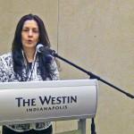 Martha Rendón en su ponencia